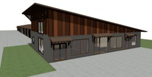 This rendering shows the design for one of the three new buildings to be located at the commercial development at 4315 E. Colorado Blvd. in Spearfish. Image courtesy of Legacy Custom Homes