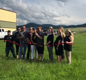 There was a groundbreaking and ribbon-cutting celebration Wednesday for a new commercial development at 4315 E. Colorado Blvd. in Spearfish, which will be the new home for Jake's Collision Repair, Millenia Motors, and The Detail Shop, with additional commercial space available.